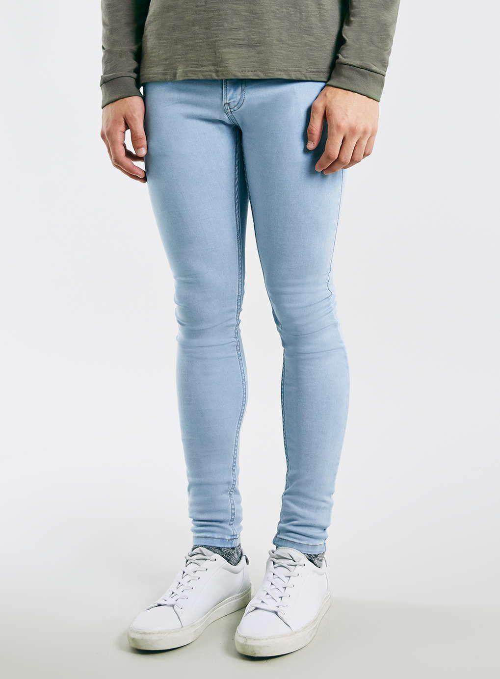 Skinny jeans herren hell
