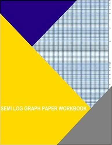 Semi Log Graph Paper Workbook  Decades By  Divisions Thor