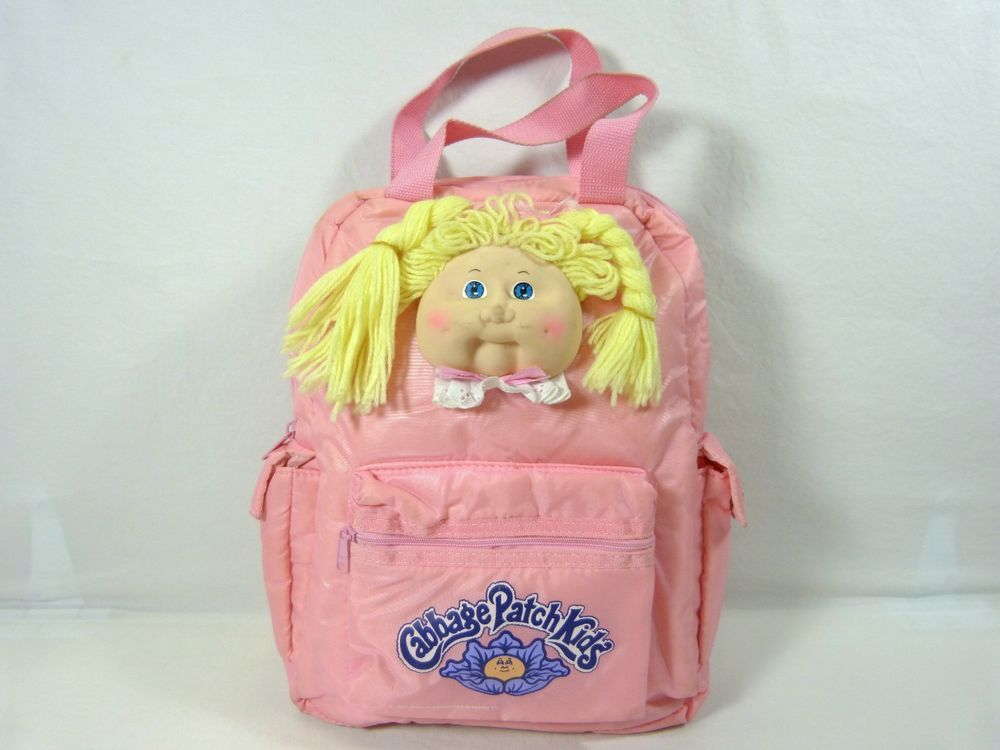 Daily Limit Exceeded Zipper Backpack Cabbage Patch Kids Backpack Bags