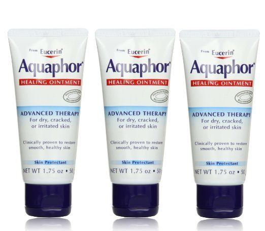 Aquaphor Healing Ointment, Advanced Therapy, 1.75 Oz (Pack of 3) | For seriously chapped lips