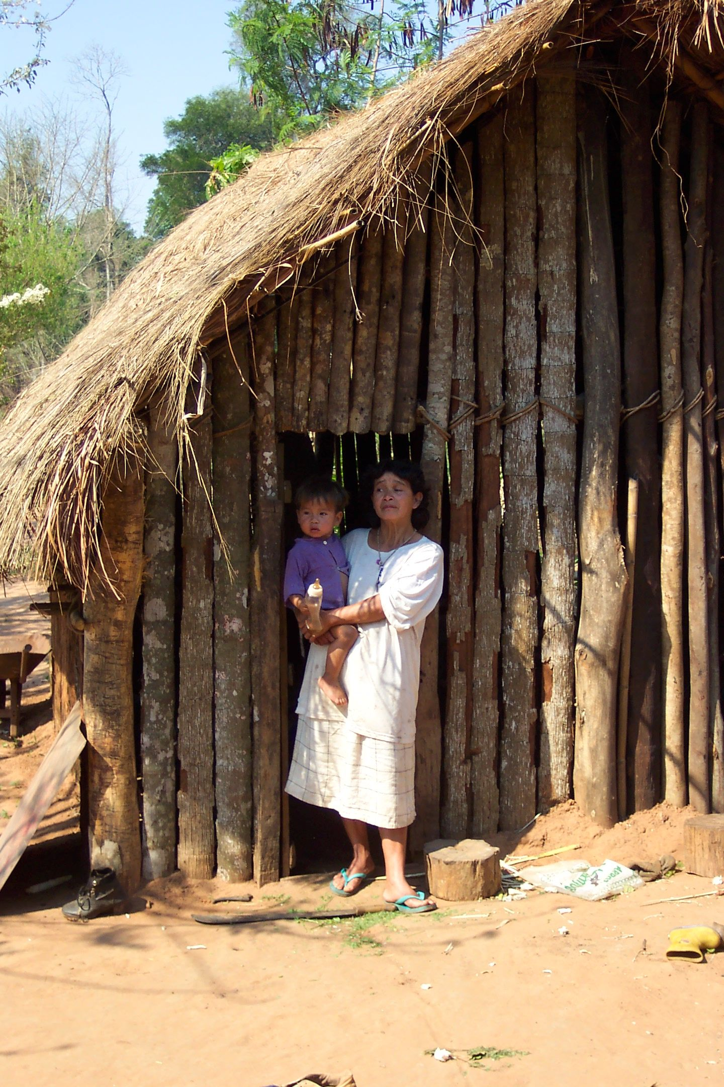 Can Paraguay's Ache People Use Rainforest Traditions to ... |Paraguay Family With Godparents