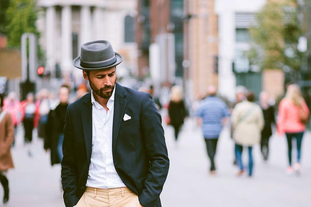 0730cf4cbe94 The Pork Pie Hat - A Visual Guide to Men s Dress Hats - The GentleManual
