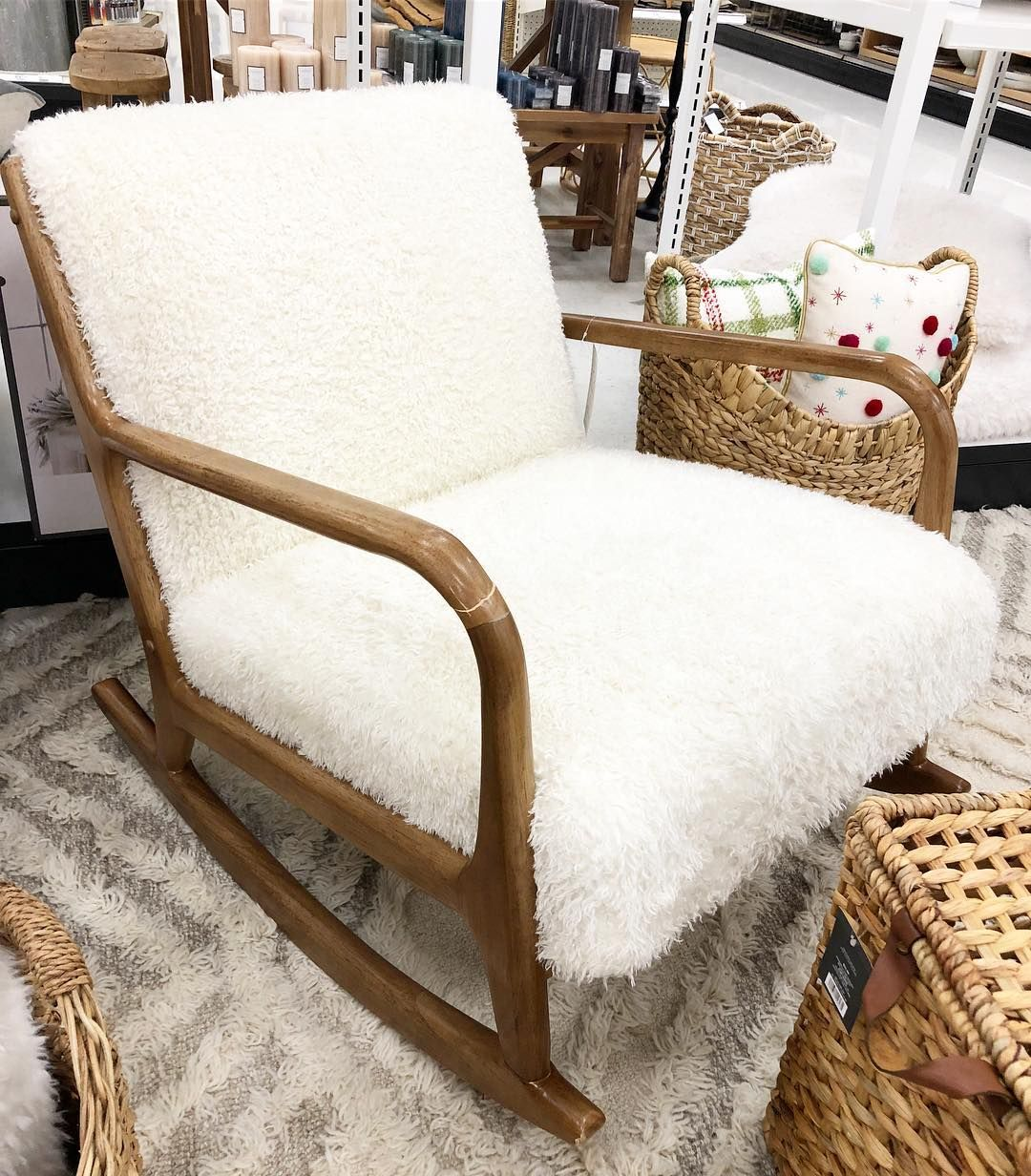 This Sherpa Rocking Chair 249