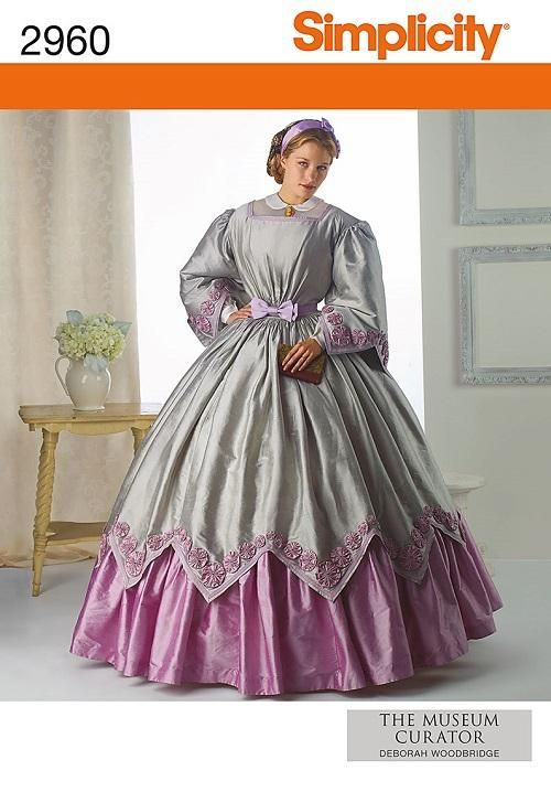 Renaissance Costume Historical Simplicity Sewing Pattern Ladies Misses Women | eBay