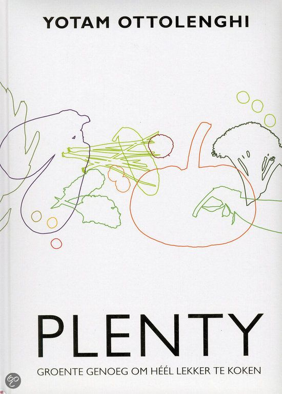 Plenty kookboek - Yotam Ottolenghi - Vegetarisch kookboek geschreven door een niet-vegetariër. Verrassende smaakcombinaties met groenten in de hoofdrol.
