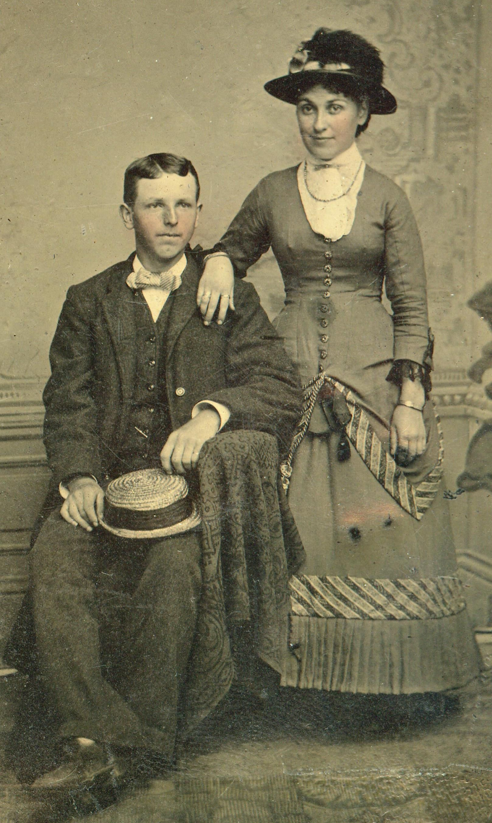 gr-gr-grandparents, Louis and Jessie Ruth (MacLeod ...