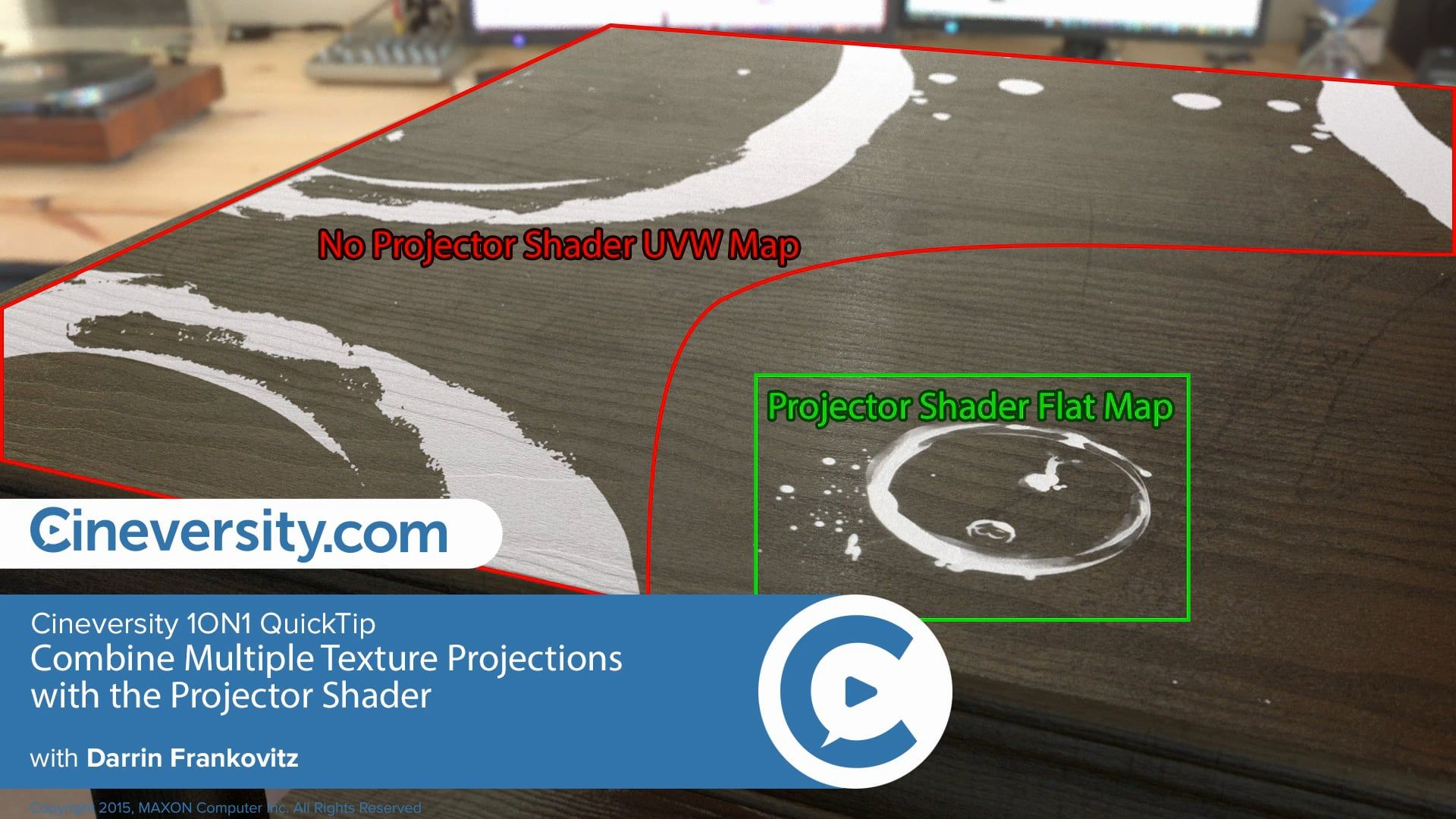 Combine Multiple Texture Projections with the Projector