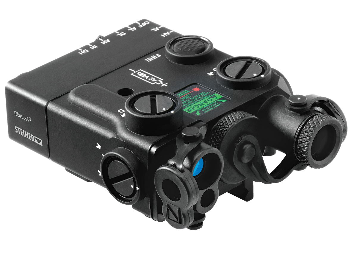 Steiner Dbal A3 Dual Beam Aiming Green Laser Ir