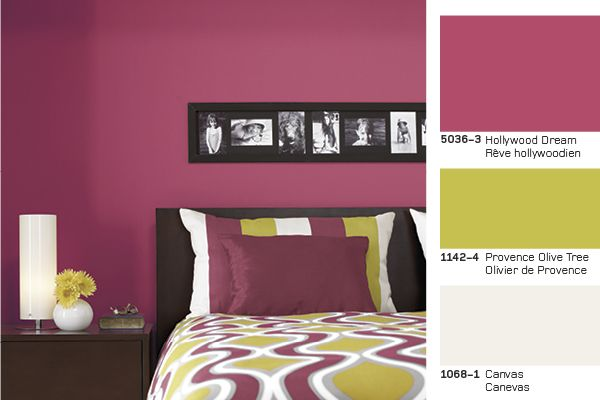 Hollywood dream Rêve hollywoodien #paint #peinture #colourtrends