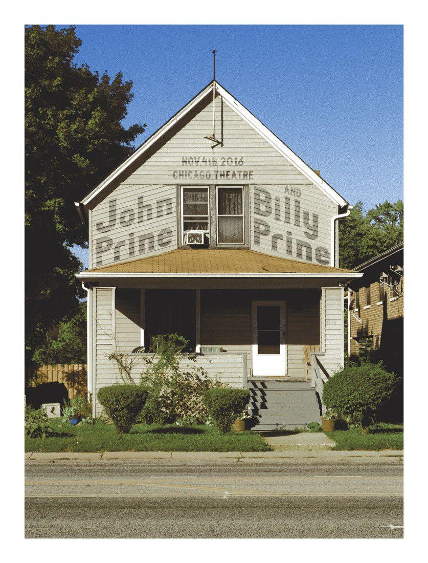 John Prine & Billy Prine Chicago Theatre Nov. 4th