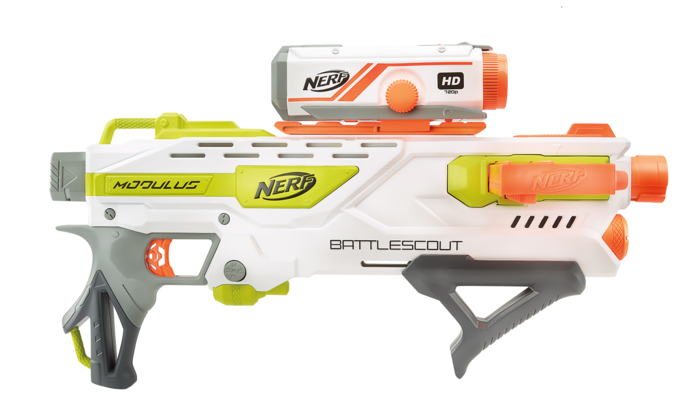 All Nerf Guns: The Ultimate List | Nerf Modulus Battlescout ICS-10