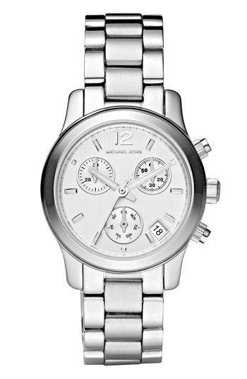 39d82f840a5d Michael Kors  Mini Runway  Chronograph Bracelet Watch