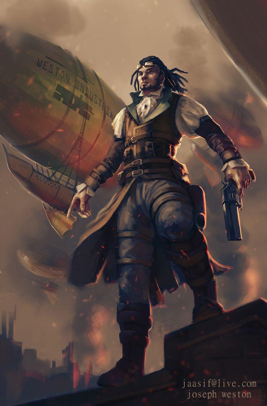 Steampunk Hero