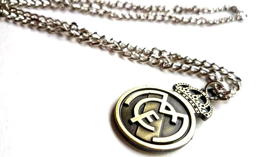 Real Madrid Collier fans de football Club Ligue des Champions Pendentif Soccer Charm