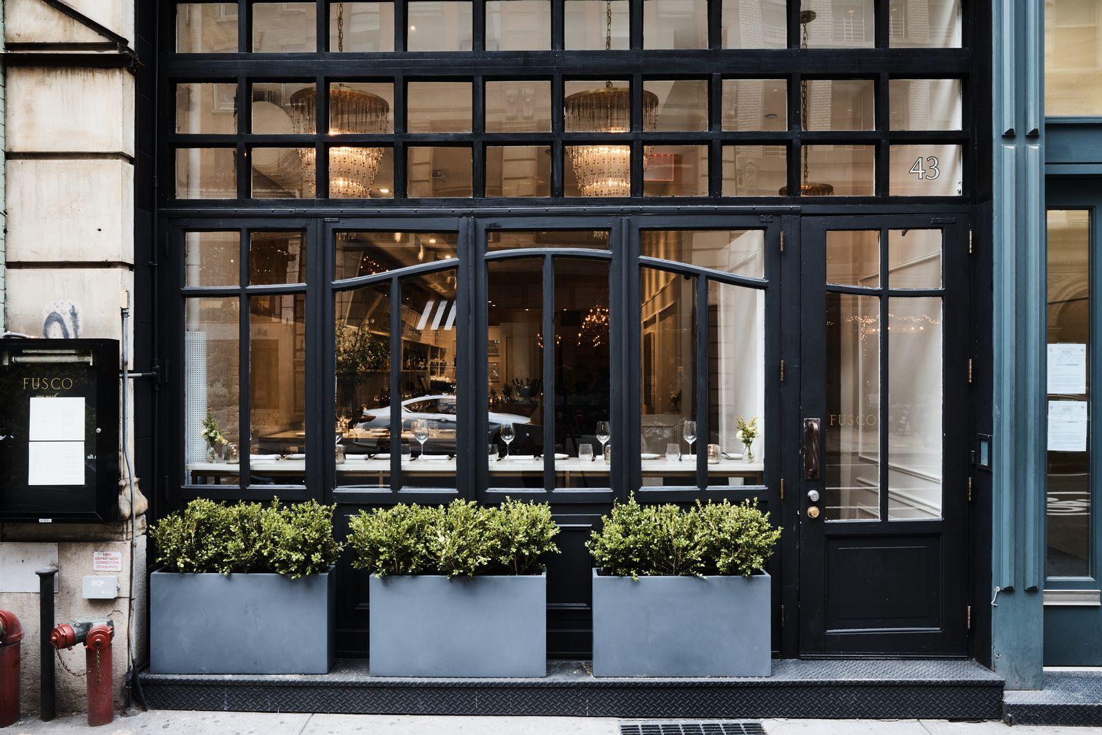 Fusco Flatiron Nyc Scott Conant S New Independent Italian Restaurant Now Open