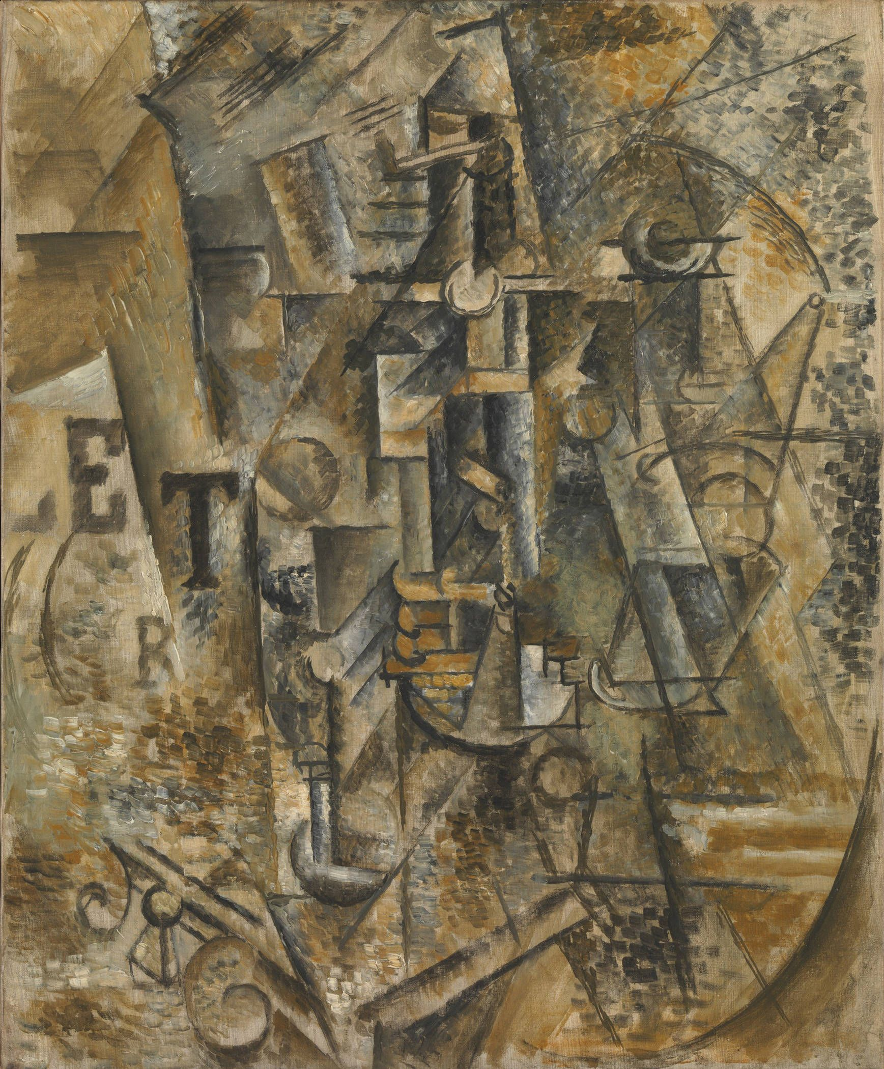Pablo Picasso (Spanish, 18811973). Still Life with a