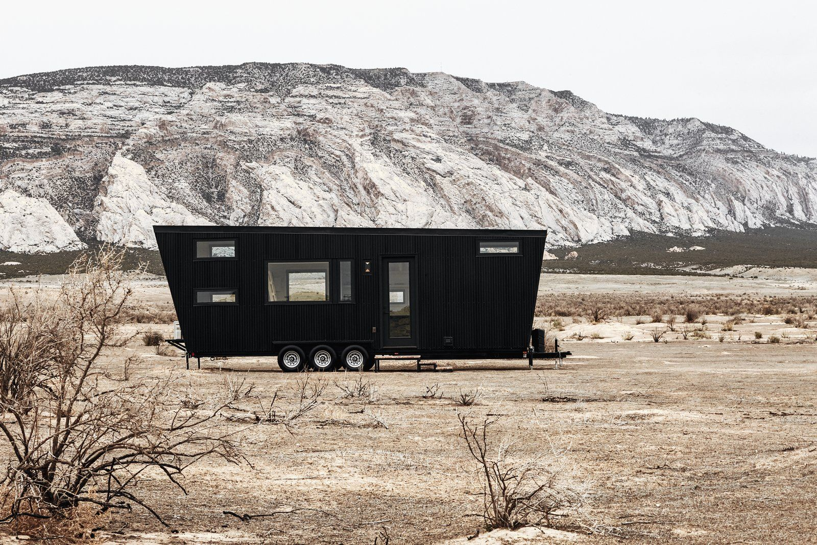This Sleek Travel Trailer Is Practically A Cabin On Wheels House On Wheels Tiny House Design Best Tiny House