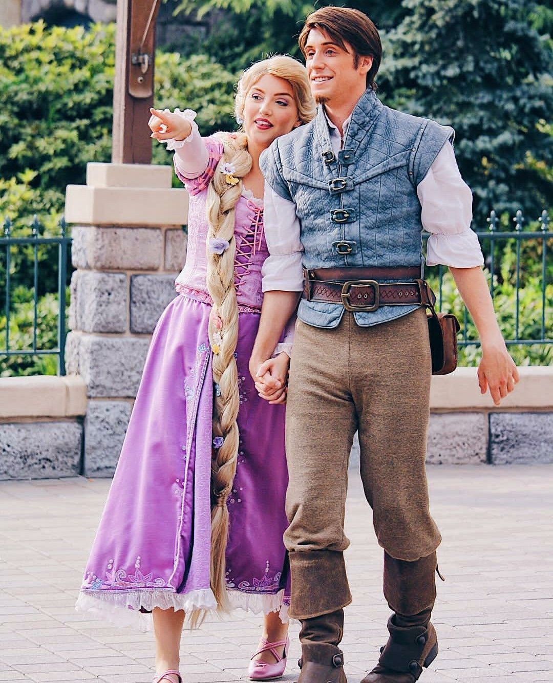 Rapunzel And Flynn Rider Rapunzel Cosplay Flynn Rider Costume Tangled Cosplay