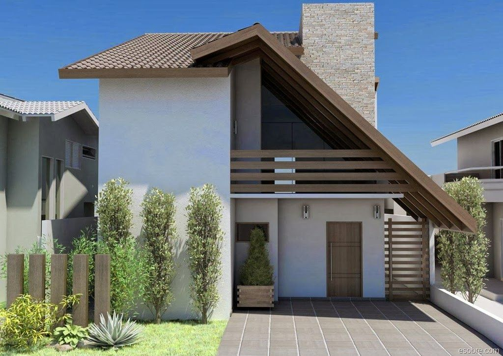 fachadas de casas rusticas modernas - Pesquisa Google Casas