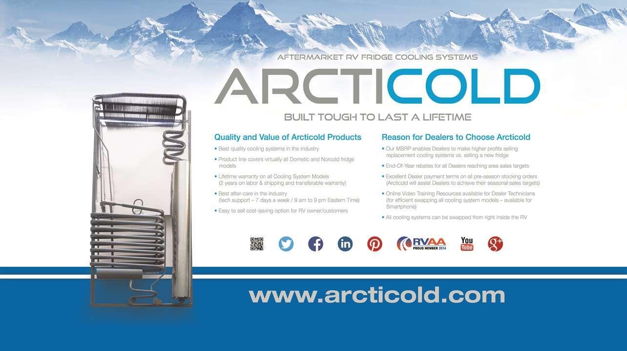 Arcticold Refrigeration Replacement Rv Fridge Cooling Unit Www