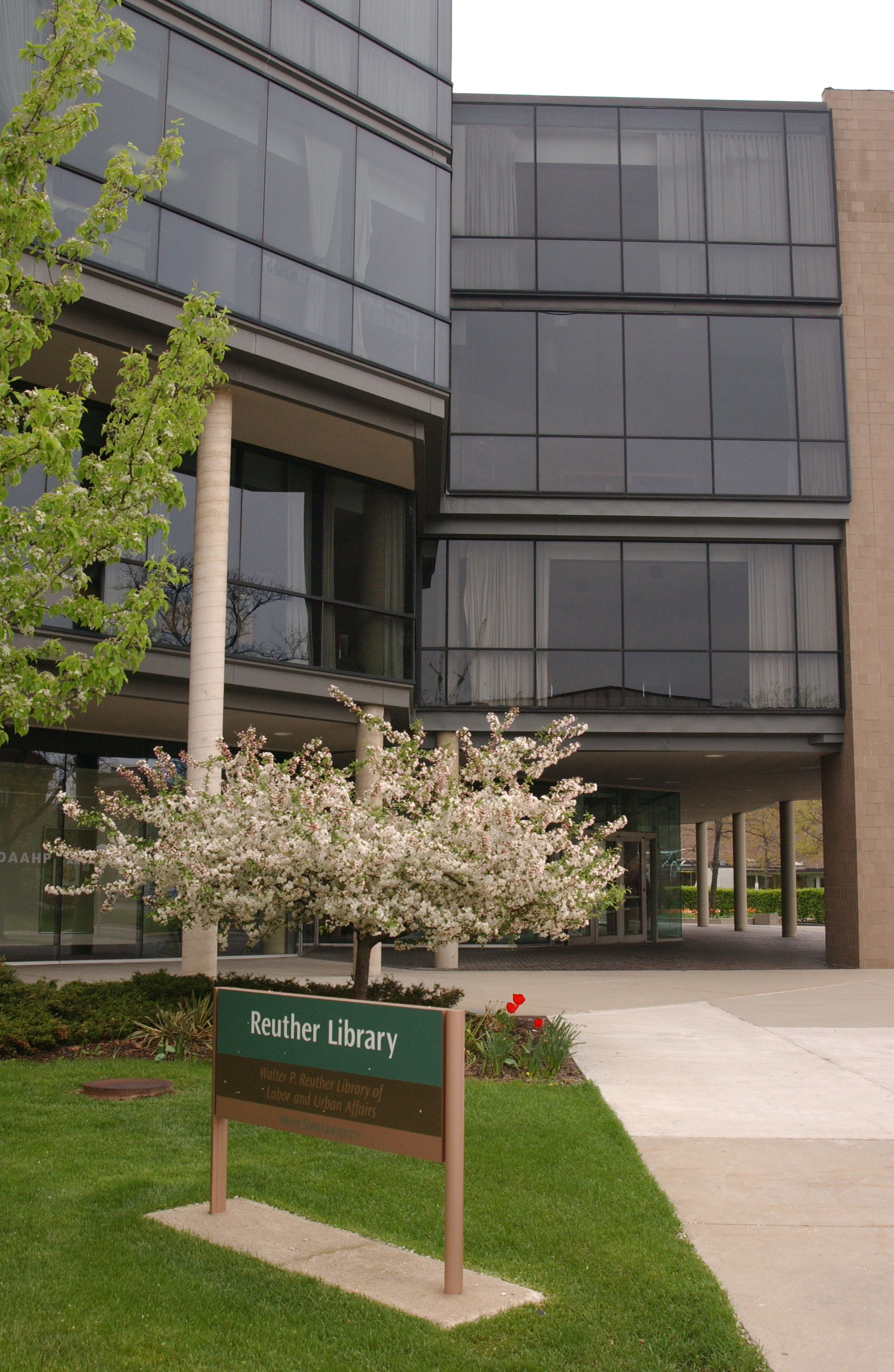 Walter P Reuther Library Wayne State University Wayne State Library