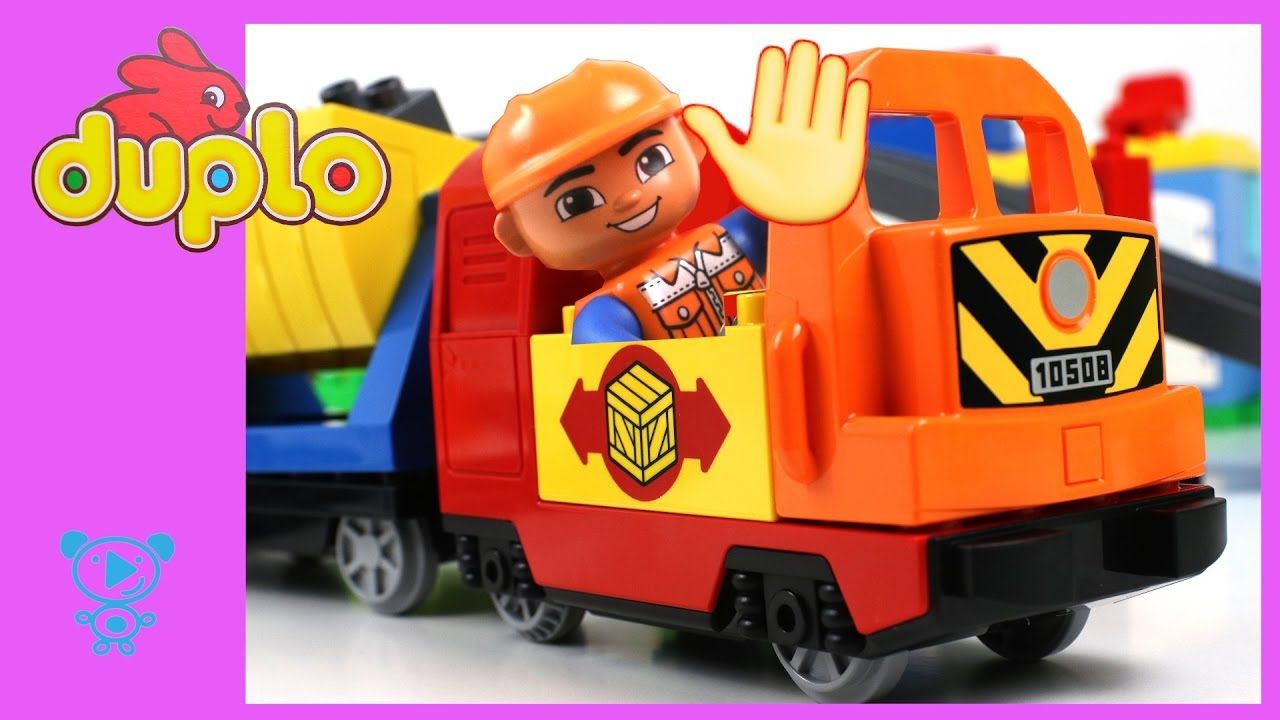 Trains for children video Lego Duplo Train Set - Toys Trains for ...