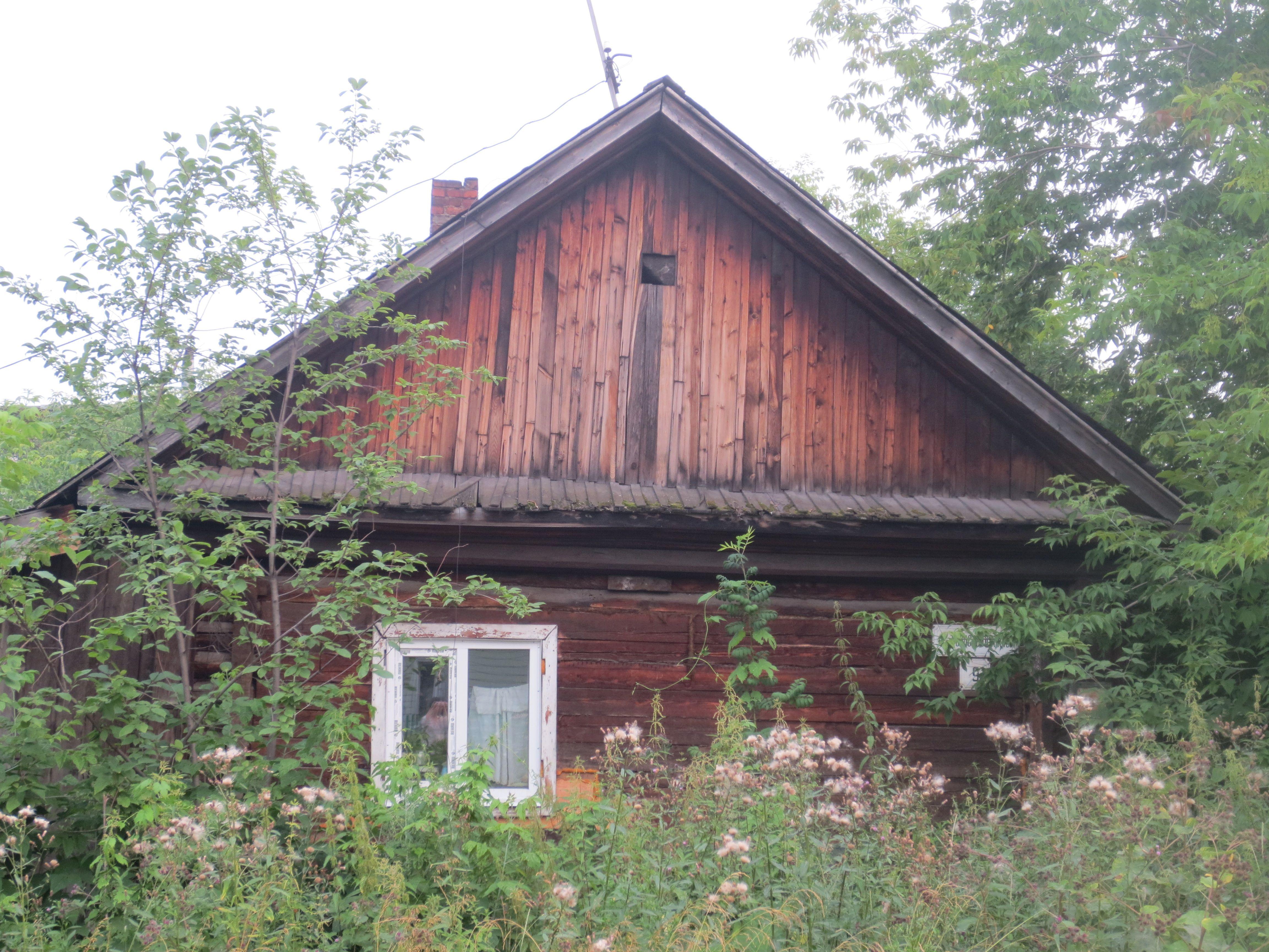 Fabelhaft Russisches Holzhaus Dekoration Von Tomsk. A Small Wooden E Not Far