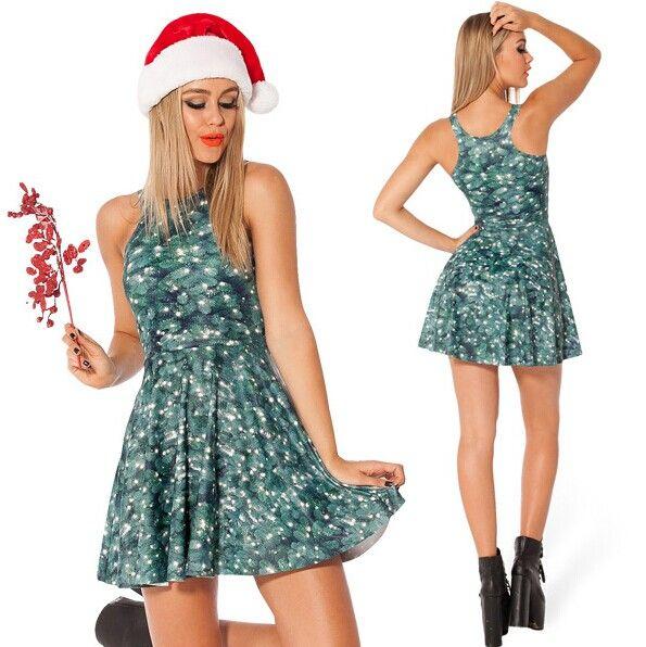 Black milk christmas tree dress images