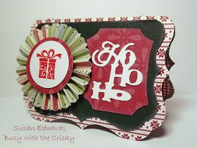 Busy with the Cricky: Gift Card Holders with CTMH Artiste