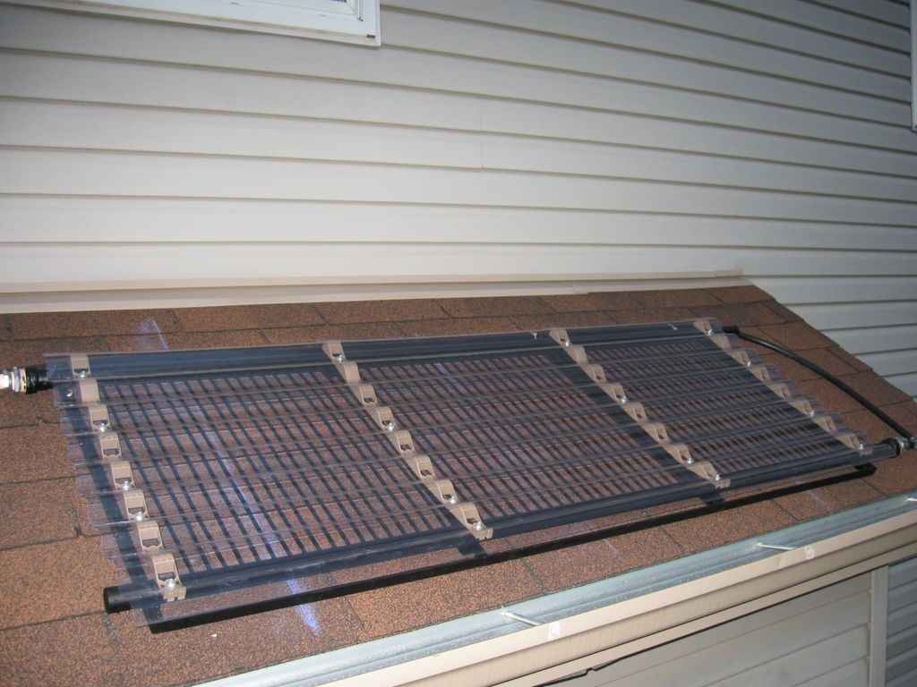 Pool Solar Water Heater Diy Solar Pool Heater Solar