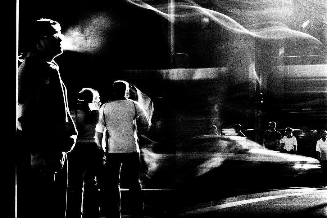Trent Parke, Magnum Photos AUSTRALIA. Sydney. George st, city centre. 2002