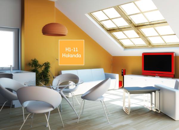 Utiliza el color holanda en las paredes de tu hogar y for Home disena y decora tu hogar