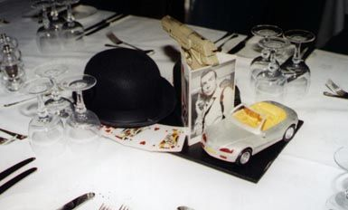 Centrepiece2 James Bond Party James Bond Bond