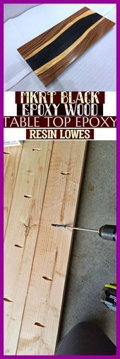 Mkrt Black Epoxy Wood Table Top Epoxy Resin Lowes Mkrt Black