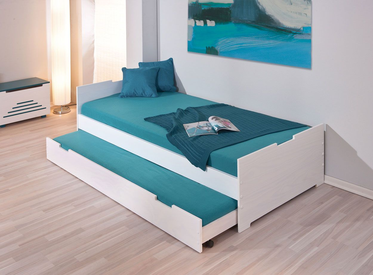 Billig Bett Mit Bett Zum Ausziehen Bett Mit Unterbett Bett Ideen
