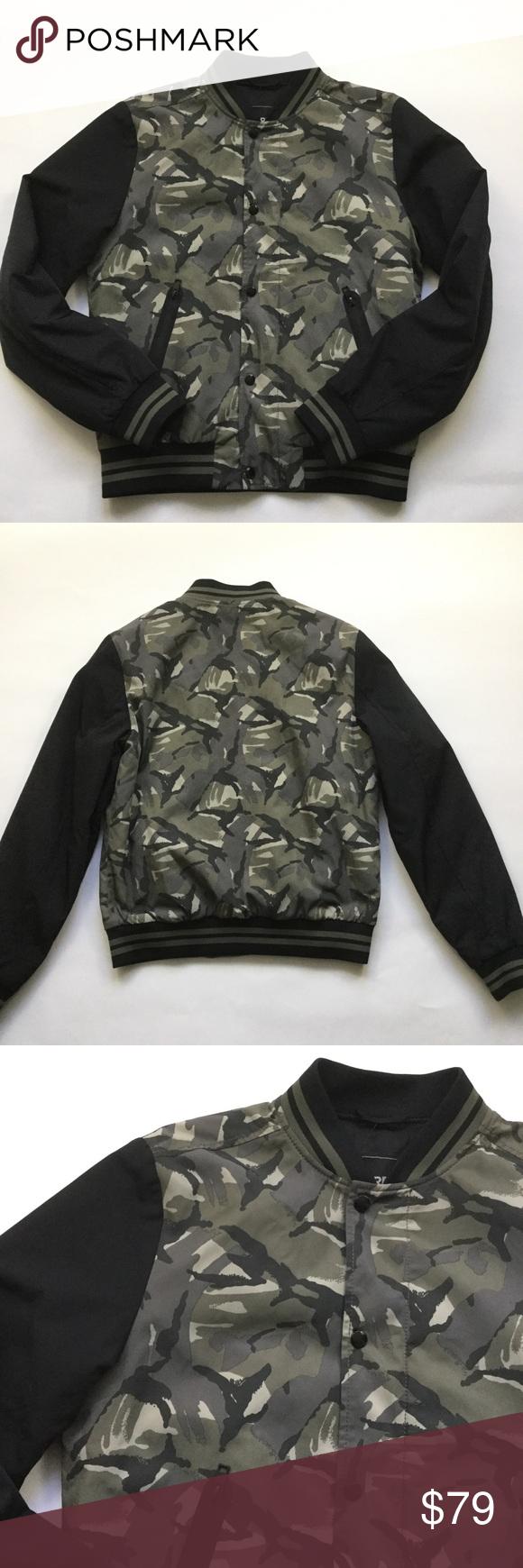 Express Mens Bomber Flight Jacket Black Camouflage Mens Bomber Clothes Design Flight Jacket [ 1740 x 580 Pixel ]