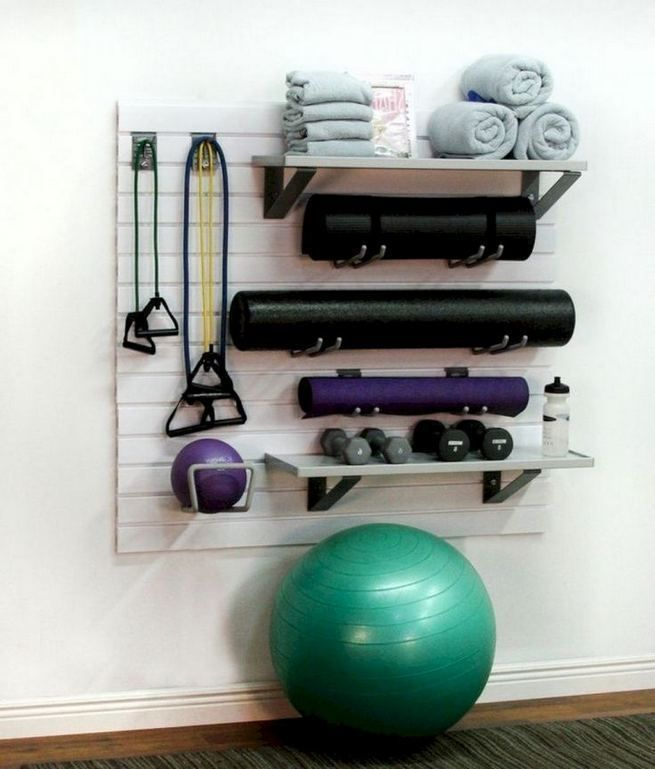 13+ Comfy Gym Room Ideas For Small Spaces