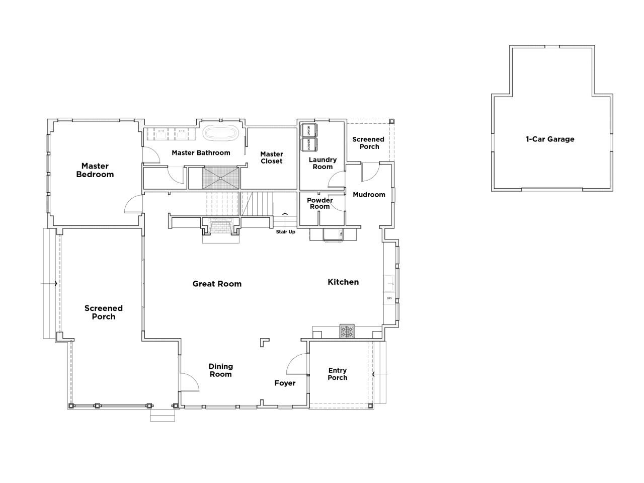 Discover The Floor Plan For Hgtv Smart Home 2018 Home Addition