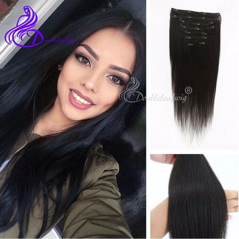 Aliexpress Buy Italian Light Yaki Clip In Hair Extensions 8pcs