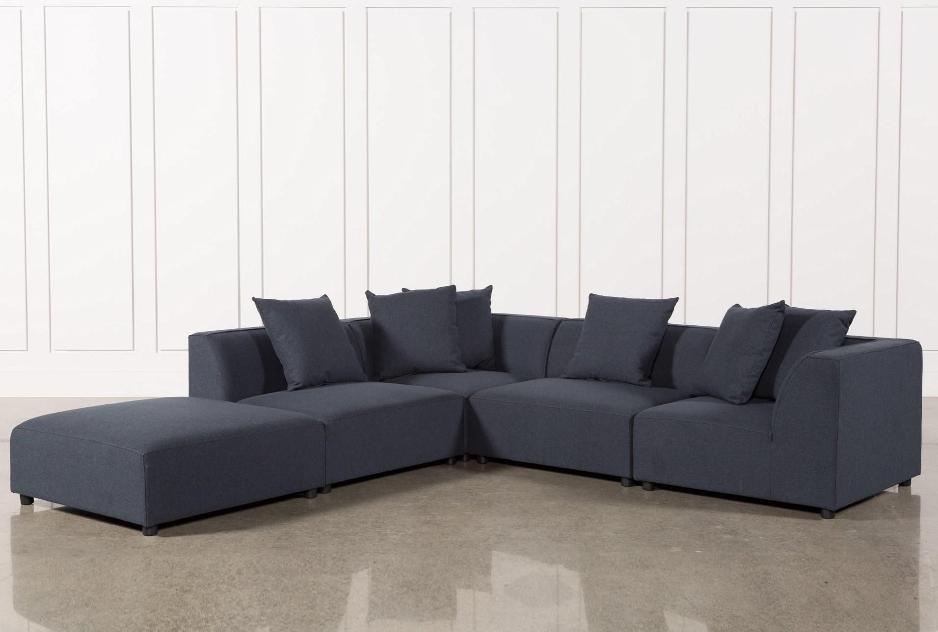 Shop for Clayton Dark Grey 5 Piece Sectional at