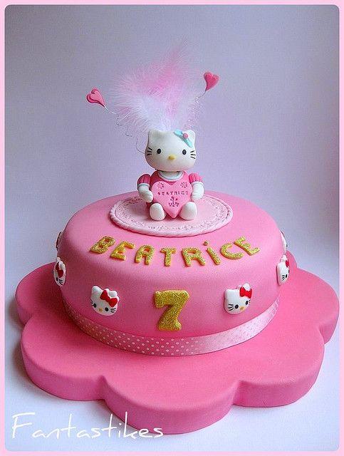 Torta Hello Kitty Hello Kitty Cake Hello Kitty Cake Birthday Cake Girls Cake Designs For Kids
