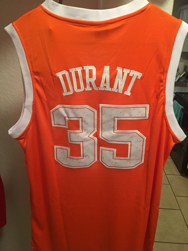 size 40 5e0c9 98de6 UT Texas Longhorns Kevin Durant KD Jersey M | Products in ...
