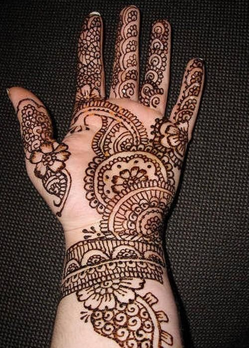 Simple Mehndi For Right Hand : Simple arabic mehndi designs for hands cathy so