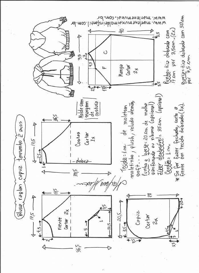 Pin de Stefanny ;3 en chompas | Pinterest | Molde, Patrones y Costura