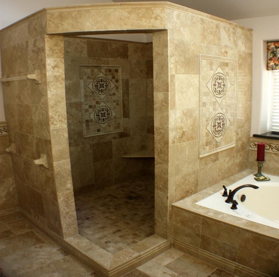 extremely inspiration 20 doorless shower designs for small