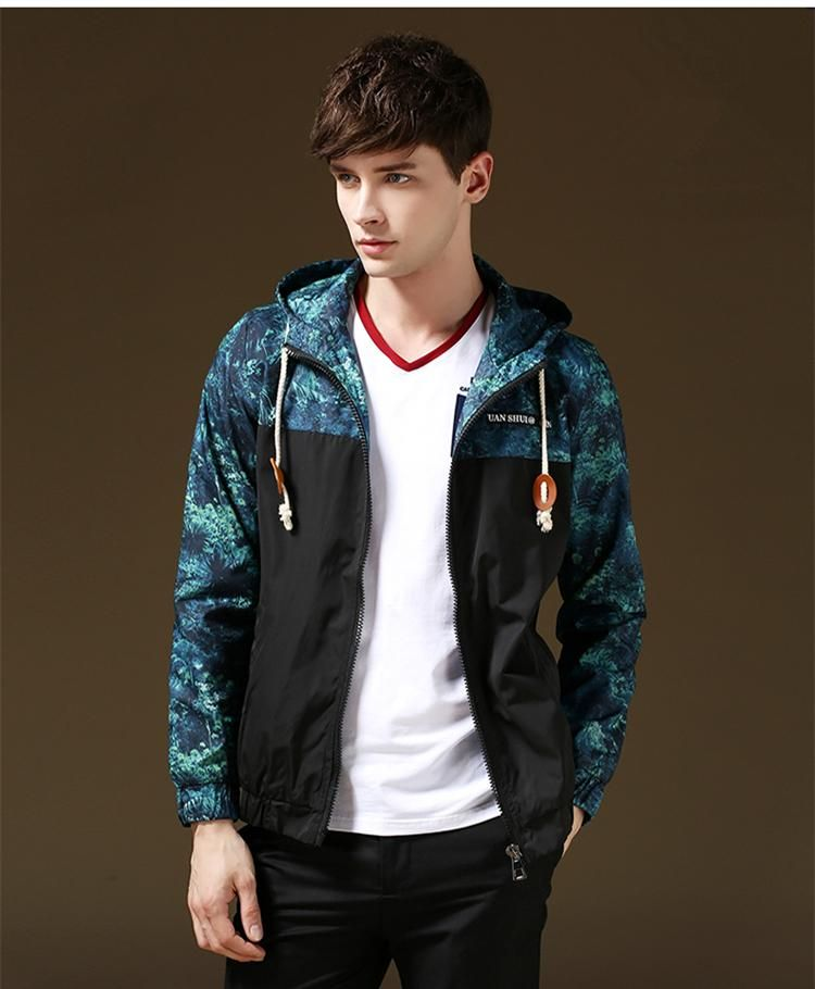 Fashion Hooded Plus Size Printing Jackets For Men High End Autumn Windbreaker Winter Mens Coats N 114 From Notwo, $37.7 | Dhgate.Com
