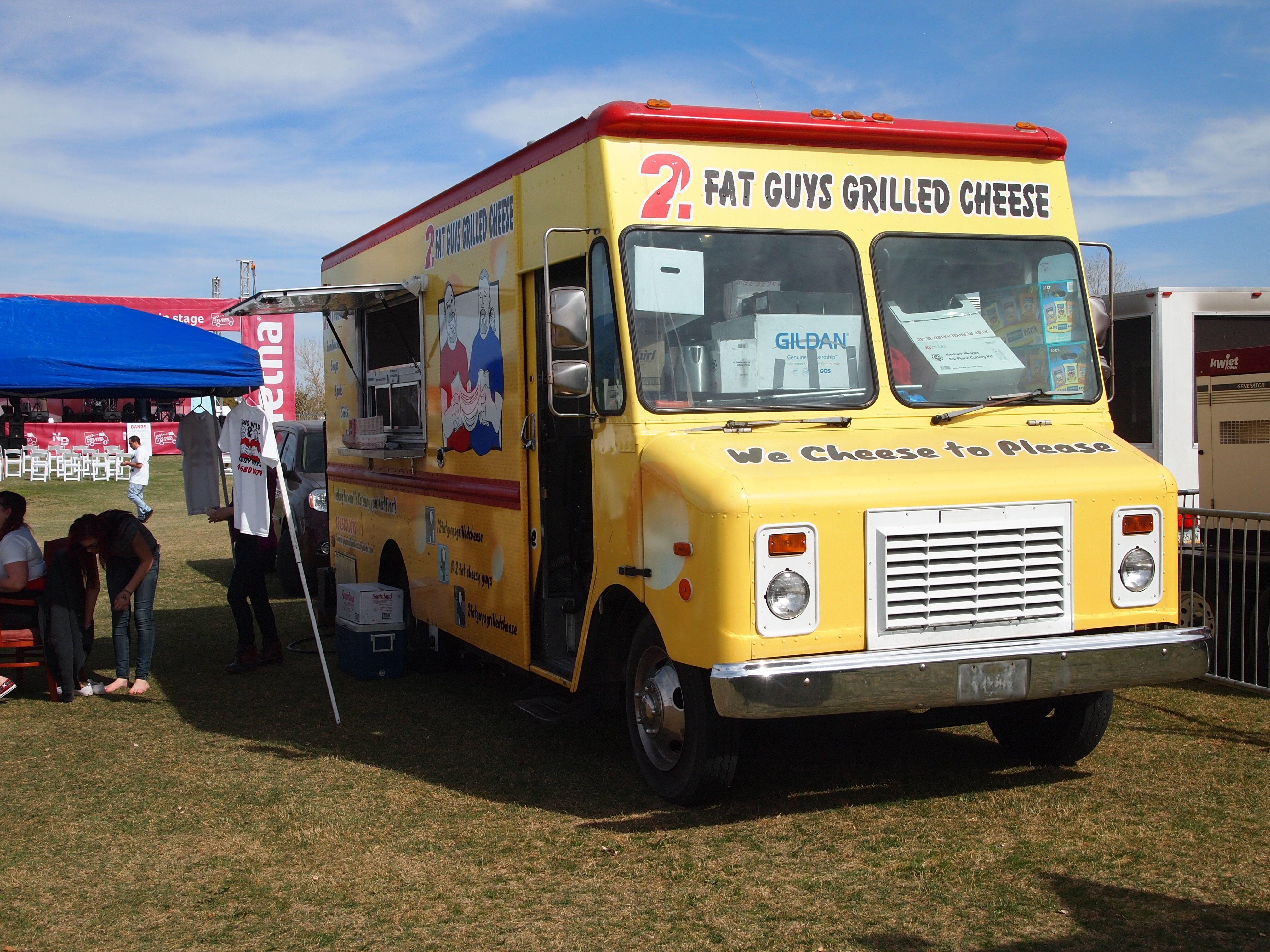 2 Fat Guys Grilled Cheese #Phoenix #Arizona #FoodTruck