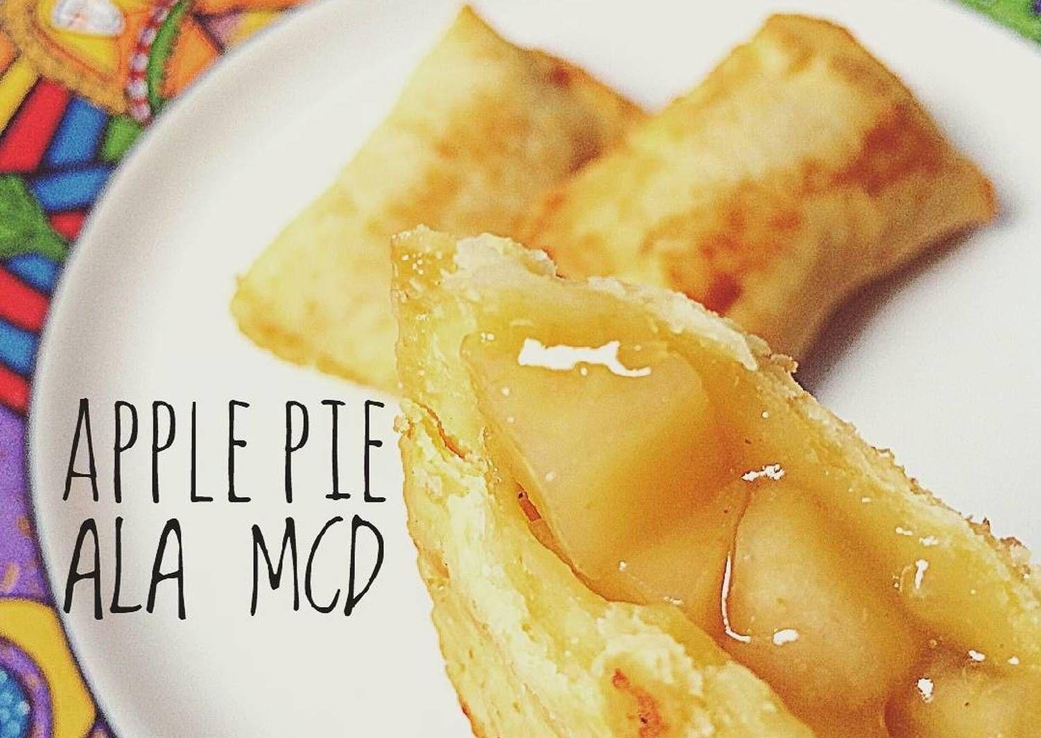 Resep Fried Apple Pie Ala Mcd Oleh Dapur Kebul Resep Pie Apel Makanan Resep