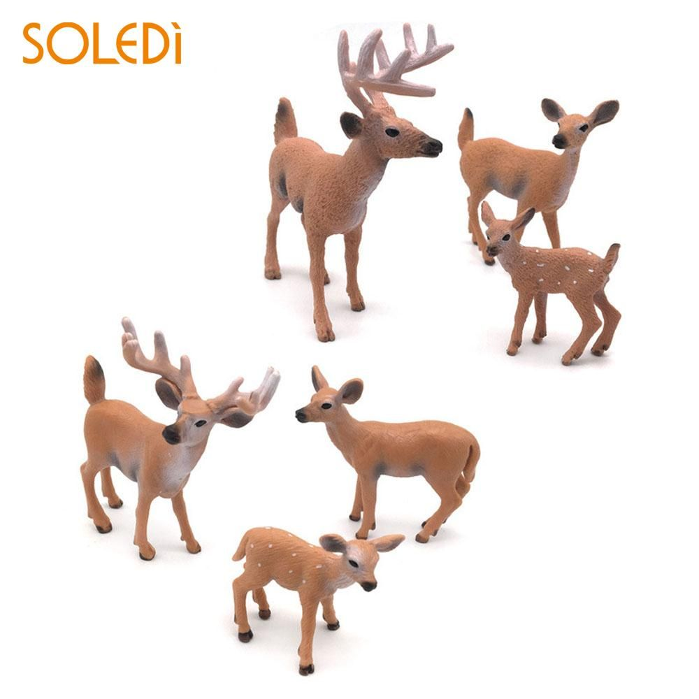 Deer Christmas Decorations White Tailed