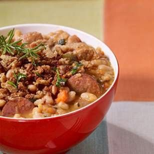 Cassoulet from  EatingWell Magazine, Sep/Oct 2013